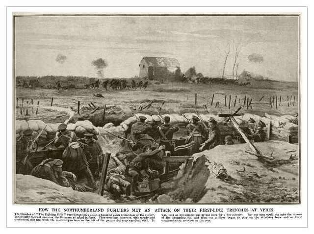 First Battle of Ypres Begins
