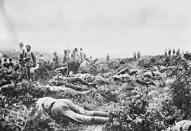 Truce to Bury Soldiers