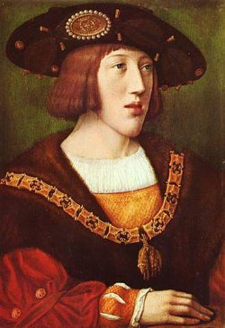 Carlos V se combierte en el soberano de España