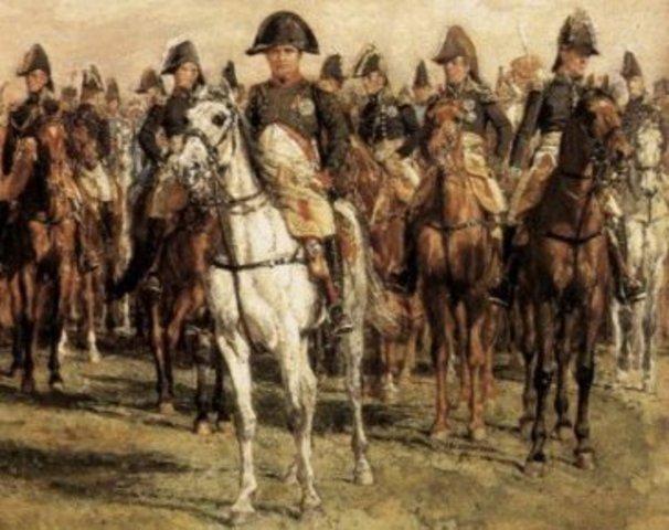 Napoleon invade a España.