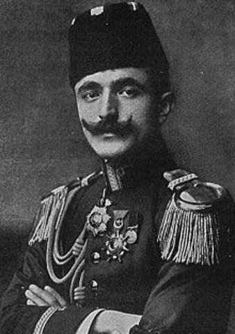 lieutenant-colonel hasan bey, commander of the turkish
