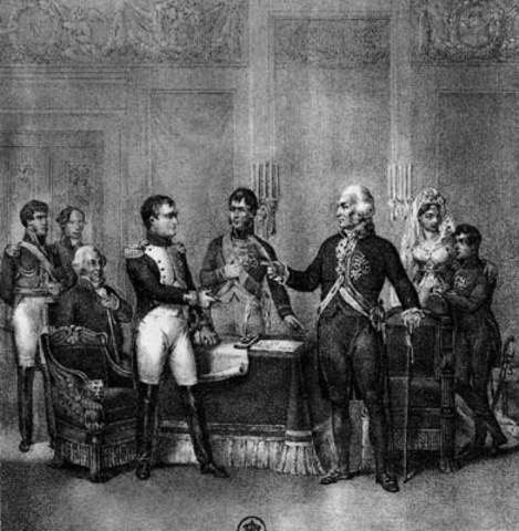 Carlos IV abdica en favor de su hijo a Fernando VII.