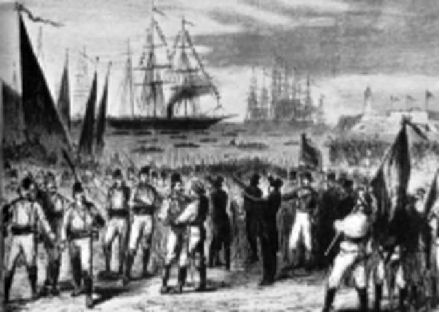España pierde Cuba y Filipinas,las últimas colonias.