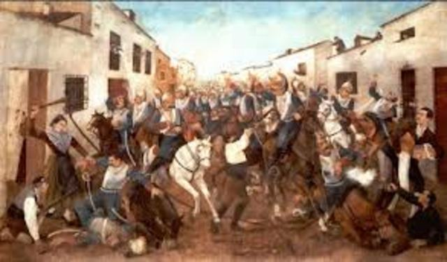 El pueblo de Madrid se levanta contra la ocupación francesa y comienza la guerra de la Independencia.