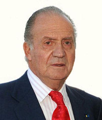 Juan Carlos I es proclama rey de España.