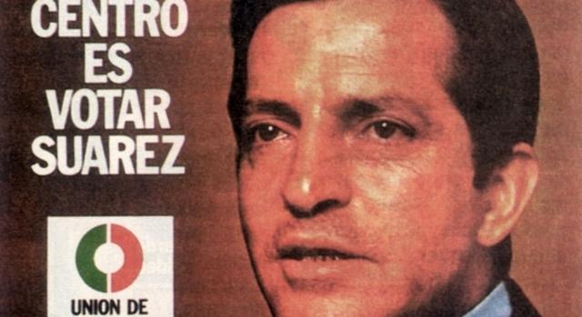 La UCD,con Adolfo Suárez al frente gana las elecciones generales.