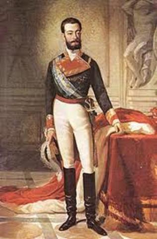 Accede al trono un monarca extranjero, Amadeo de Saboya.