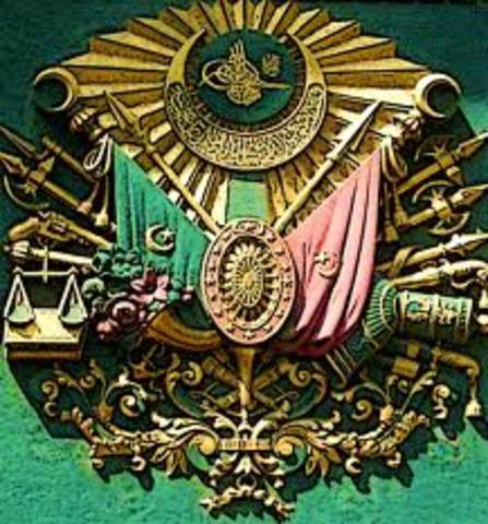 Dissolution of the Ottoman Empire