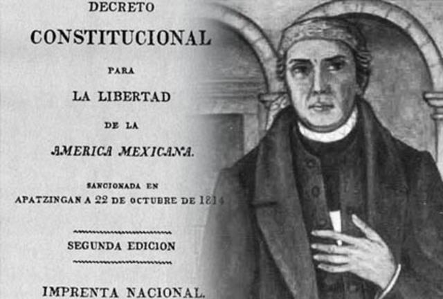 Promulgación de la Constitución de Apatzingan