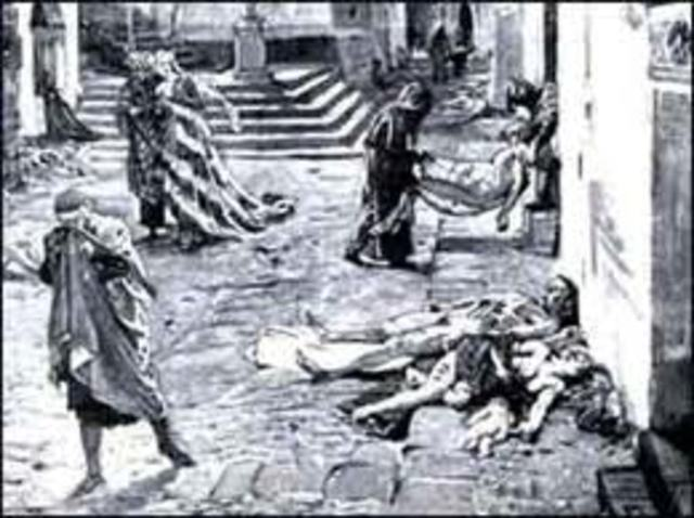 Outbreak Of The Plague In Europe
