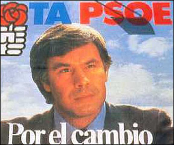 El PSOE , con Felipe González al frente, gana las elecciones generales