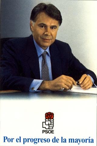 Felipe González al frente del PSOE