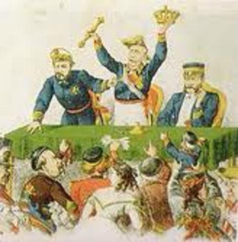 Se produce una revolución llamada <> y la reina de Isabel II es expulsada de España