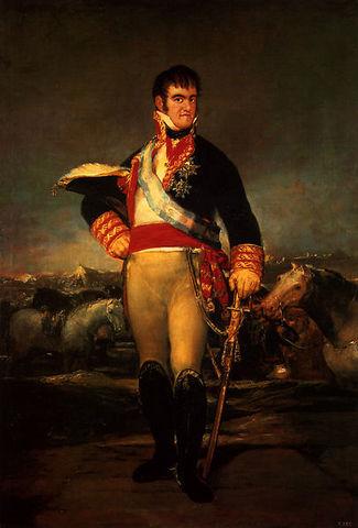 Finaliza la guerra de la independencia y Fernando VII regresa al trono de España
