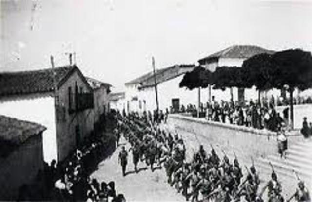 El general Francisco Franco da un golpe de Estado y comienxa la Gerra Civil española.