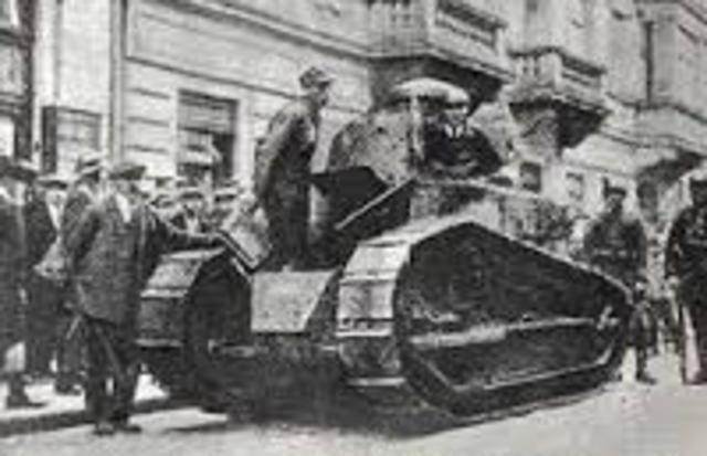 Un grupo de militares protagoniza un intento de golpe de Eatado