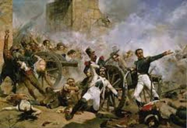 El pueblo de Madrid se levanta contra la ocupación francesa y  comienza la guerra de la Independencia