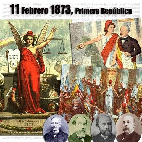 Se proclama una república en España.