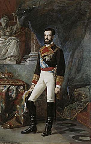 Accede al trono un monarca extranjero, Amadeo de Saboya