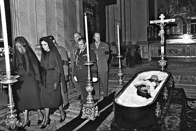 Muerte de Franco y comienzo de la transición democrática