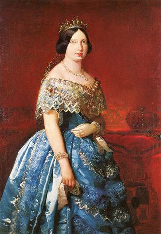 Isabel II accede al trono de España.