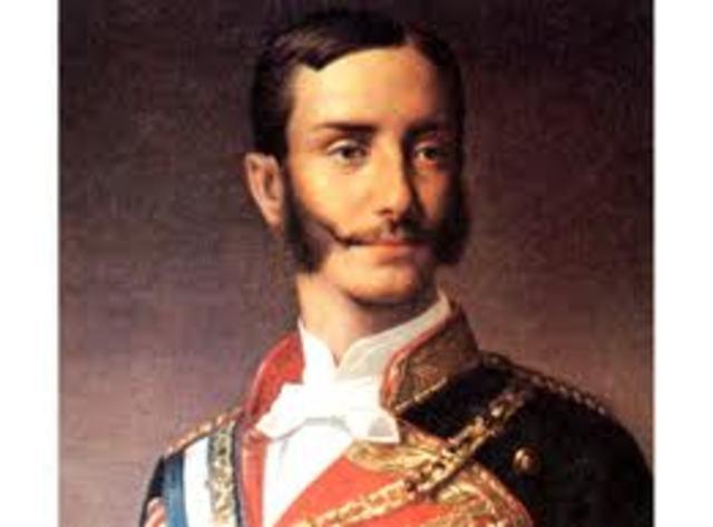 Se restaura la monarquía de los Borbones y Alfonso XII accede al trono de España.