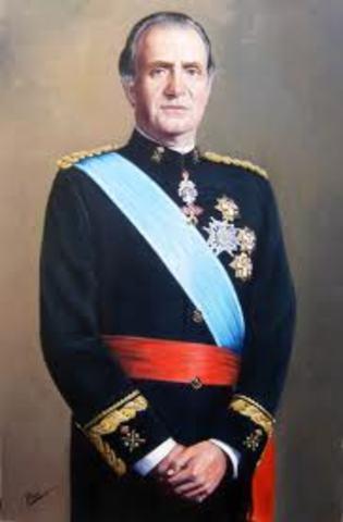 Juan Carlos I es proclamado rey de España