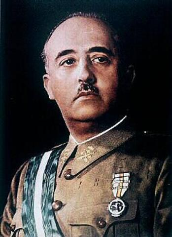 EL GENERAL FRANCISCO FRANCO DA UN GOLPE DE ESTADO Y COMIENZA LA GERRA CIVIL ESPAÑOLA.