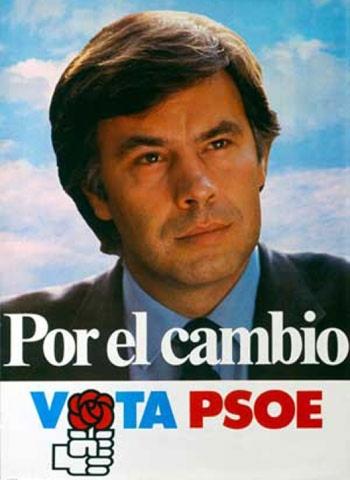 El PSOE, con Felipe González al frente, gana las elecciones generales.