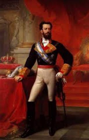 Accede al trono un monarca extranjero, Amadeo Saboya.