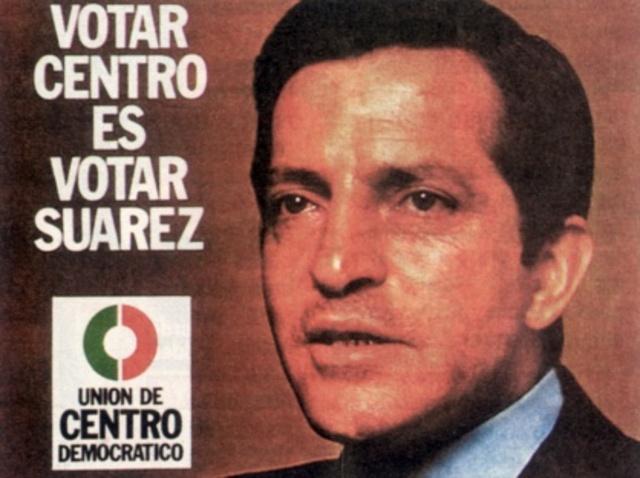 La UCD, con Adolfo Suárez al frente, gana las elecciones generales