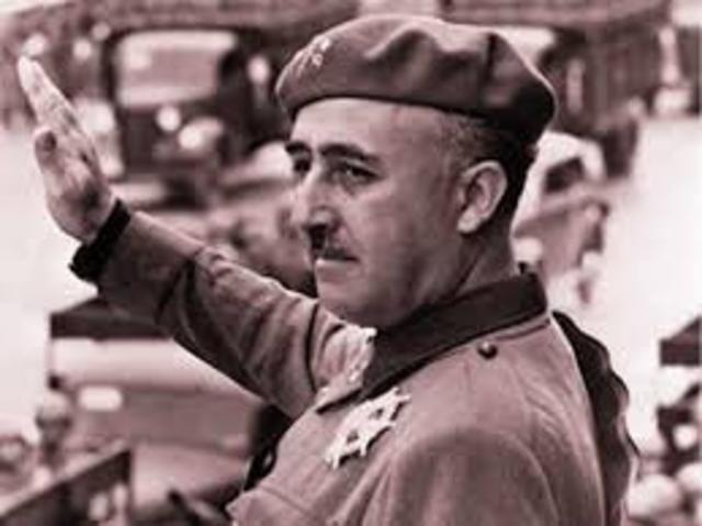 El general Francisco Franco da un golpe de Estado y comienza la Guerrra Civil española.