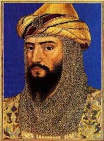 Saladin was born