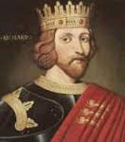 Richard the Lionheart was born