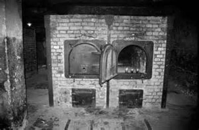 Last use of gas chambers at Auschwitz.
