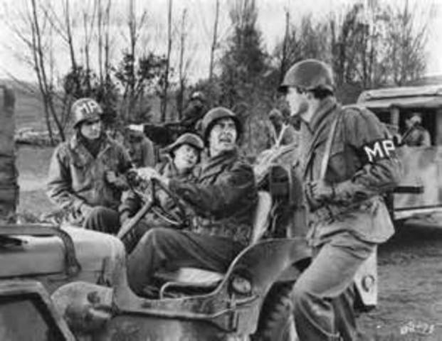 Battle of the Bulge in the Ardennes begins.
