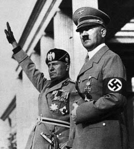 Facist Italy and Nazi Germany Unite