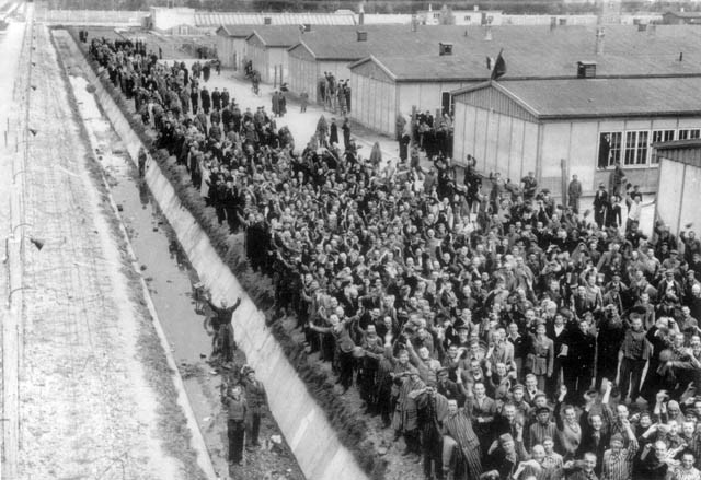 First Concentration Camp Liberated