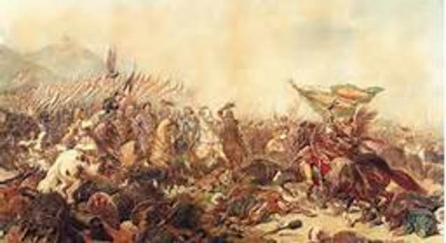 Ottomans defeated at the battle of Vienna