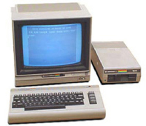 Early Publicity still for the Commodore 64