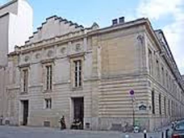 Entra al Conservatori de París