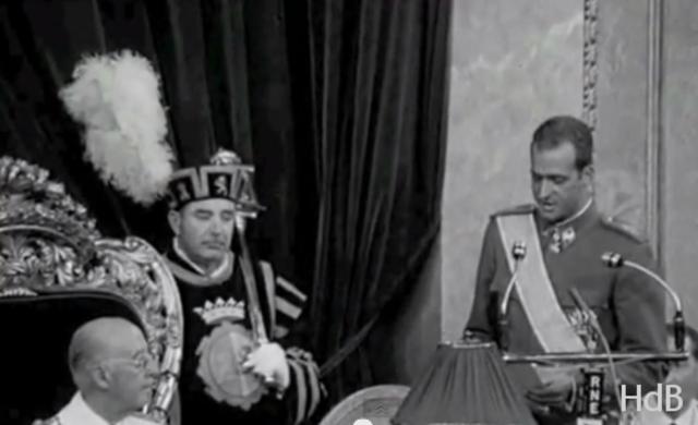 Juan Carlos de Borbón sucesor en la jefatura del Estado
