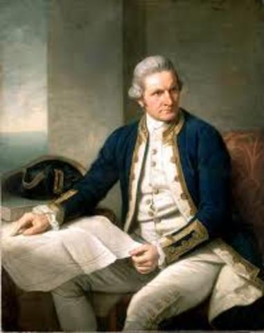 Captain James Cook and his Crew