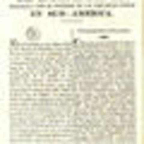 Se independiza la primera colonia Americána, Argentina