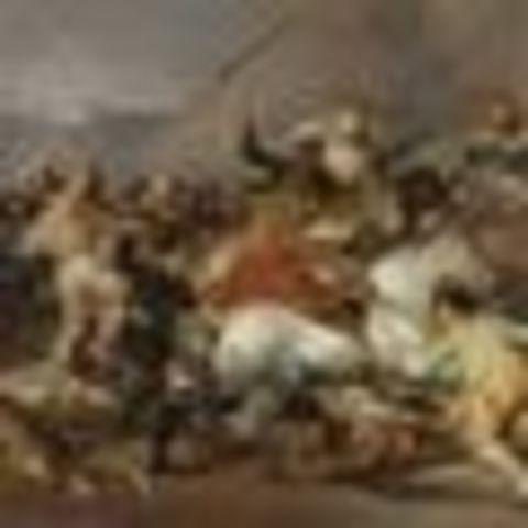 El pueblo de madrid se levanta contra la ocupacion francesa y comienza la guerra de la independencia.