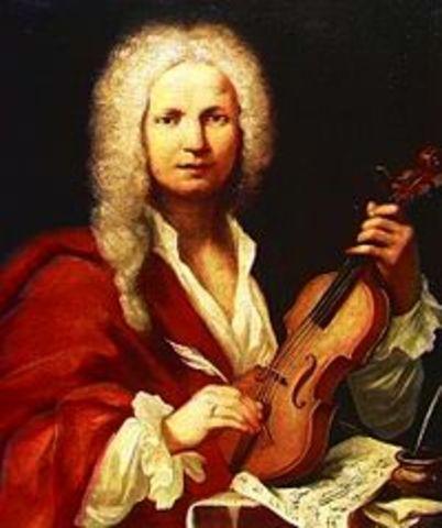 Naixement de Antonio Vivaldi