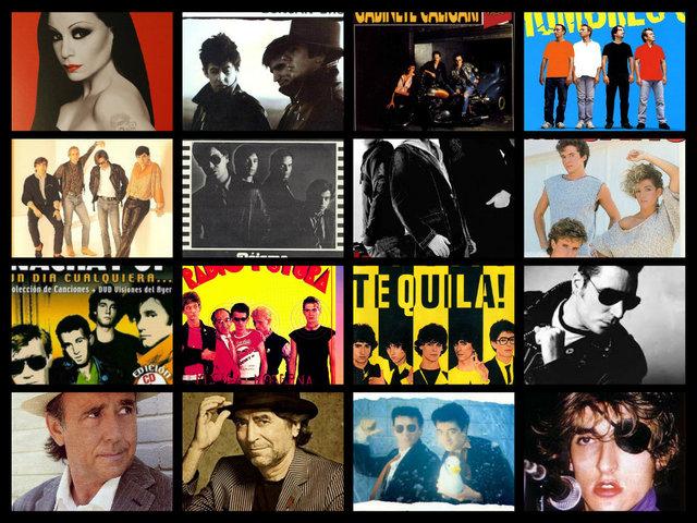 El Pop español en los años 80´ y 90´