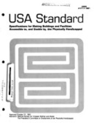 First Accessibility standard published