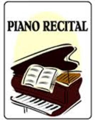 El primer recital