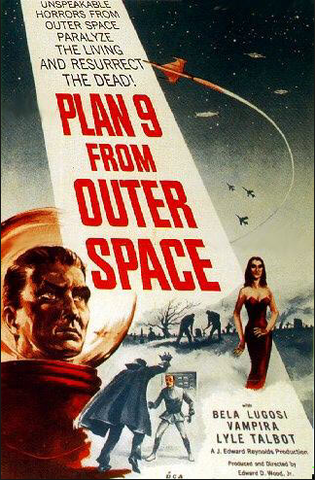 Release of Plan 9 From Outer Space